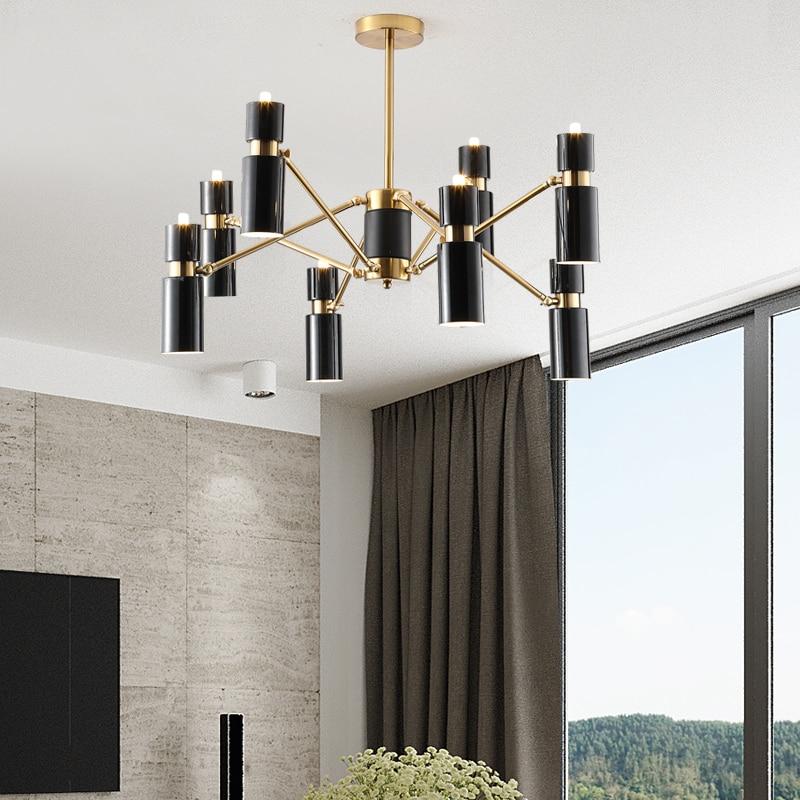 Modern Pendant Lights Led Gold Black hanging Lamp for living room kitchen Fixtures lustre Home Lighting luminaria Pendant Lamp|Pendant Lights| |  - title=
