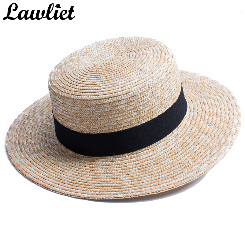Womens Hats Fashionable Colorful Big Brim Straw Bow Hat Sun Floppy Wide Brim Hats Beach Cap Chapeau Paille
