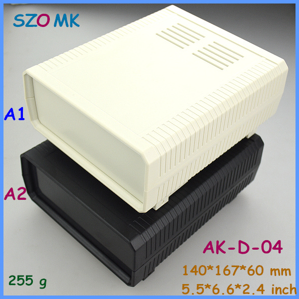 electrical project box enclosure pcb box (1 pcs) 140*167*60mm plastic project box electronic case szomk desktop instrument box 1 piece free shipping szomk diy wall mount plastic box abs card reader enclosure screen case lcd case rfid
