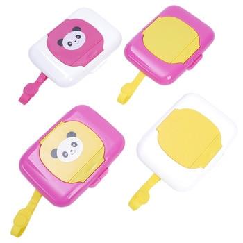 ISKYBOB Portable Baby Wipe Case Box Stroller Kids Wet Wipe Dispenser Travel Case Tissue Boxes Travel Accessories Table Decors недорого