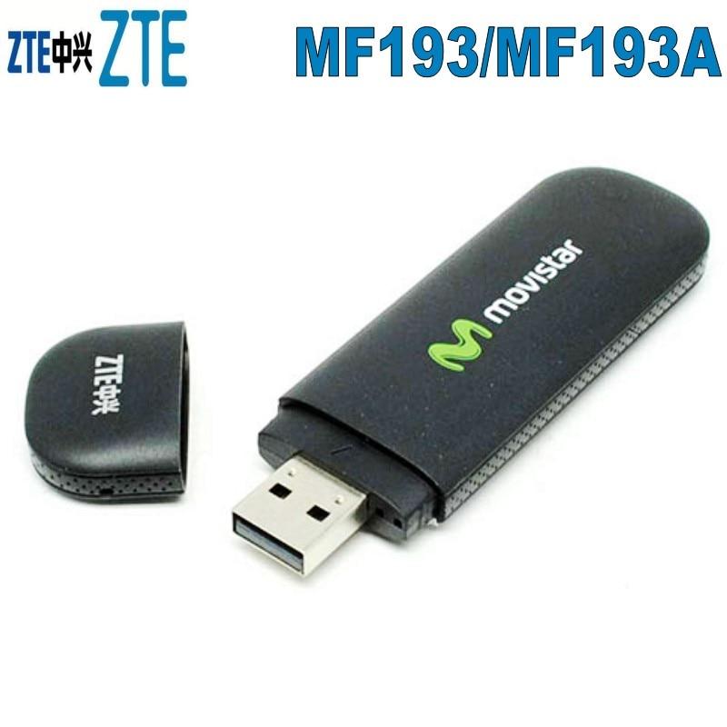 100pcs/lot Unlocked ZTE MF193/MF193A 3G USB Modem   ,Logo Randomly