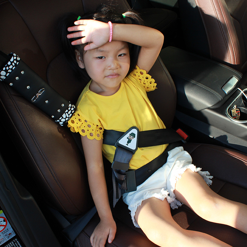 Baby Safety Car Seat Strap Child Toddler Chest Harness Clip Safe Buckle Part Black Hui