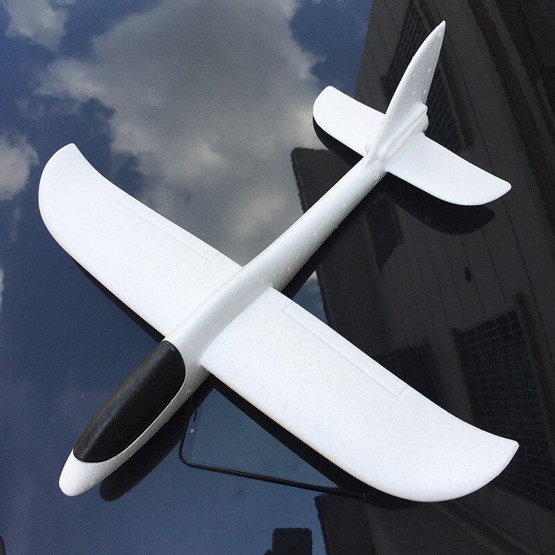 """48 ס""""מ גדול גודל יד לזרוק מטוס גלשן מטוסי אינרציאליות קצף EPP מטוס צעצוע מטוס דגם חיצוני כיף ספורט מטוס דגם צעצועים"""