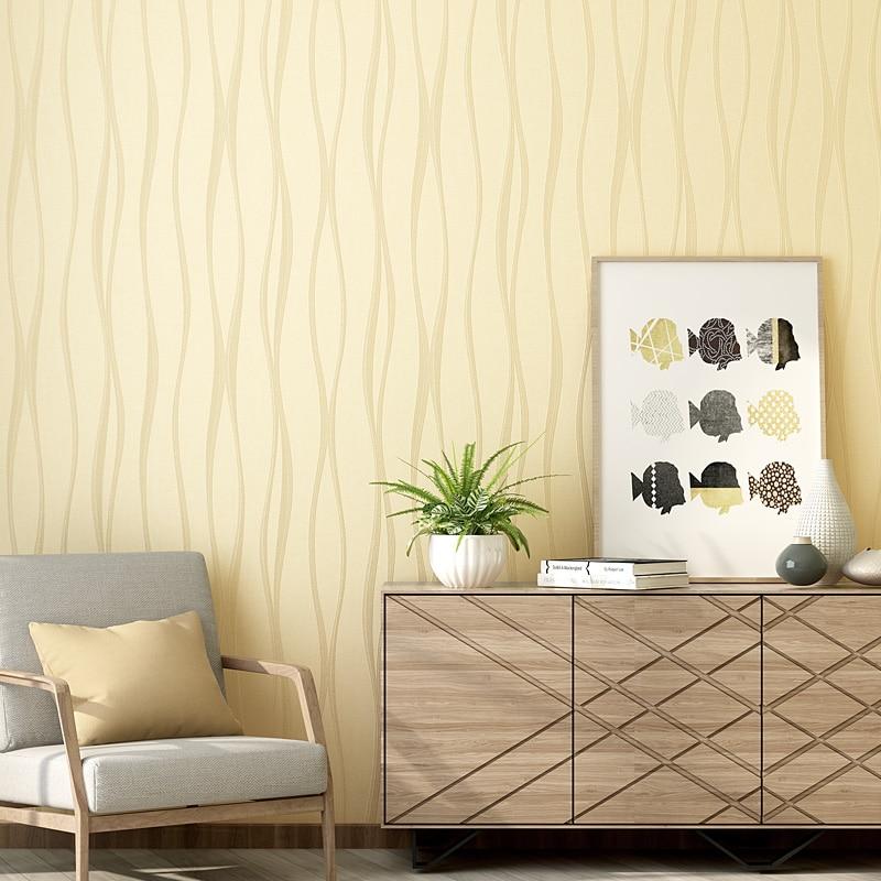 moda pink bege luz azul papel de parede listrado 3d moderna sala de estar nao tecido