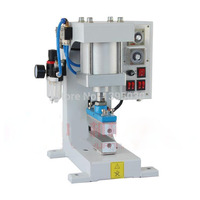 220V 1 SET Pneumatic bronzing machine, barge under bit machine heating, lace processing, Automatic gilding principle