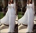 Puffy vestido de baile uma linha de chiffon longo dubai marroquino kaftan branco maxi muçulmano manga comprida formal até o chão vestidos de noite