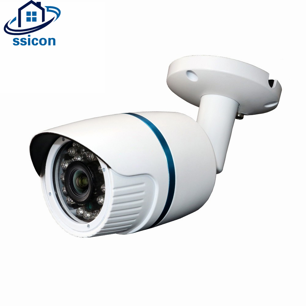 SSICON HD 2MP CCTV AHD Waterproof Camera Bullet SONY IMX323 CMOS Sensor 3.6mm Lens Security Surveillance Camera Outdoor 1080P smar outdoor bullet ip camera sony imx323 sensor surveillance camera 30 ir led infrared night vision cctv camera waterproof
