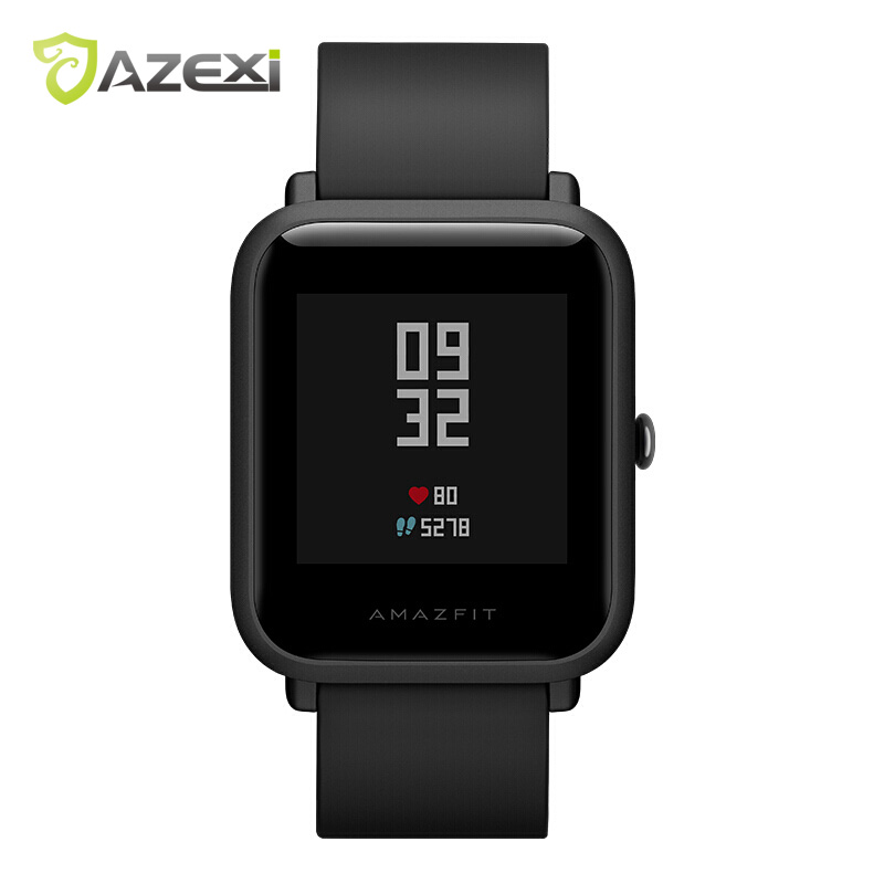 Amazfit Bip Bit Youth Edition(Pace Lite)Smart Watch Bluetooth4.0 GPS Heart Rate Monitor 45 Days Standby IP68 Huami Xiaomi Eco умные часы huami amazfit bip youth edition оранжевый