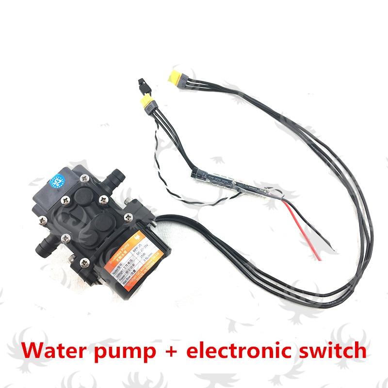 Mute Mini-type mute Brushless water pump Miniature Pressure Diaphragm Pump for DIY Agriculture drone spray gimbal 5L 10L 15L 8 l min electric diaphragm 12v dc mini air pump brush