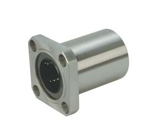 LMK50UU 50mm Square Flange Linear Bearing lmk50luu lengthening square flange linear bearings 50mm 80mm 192mm