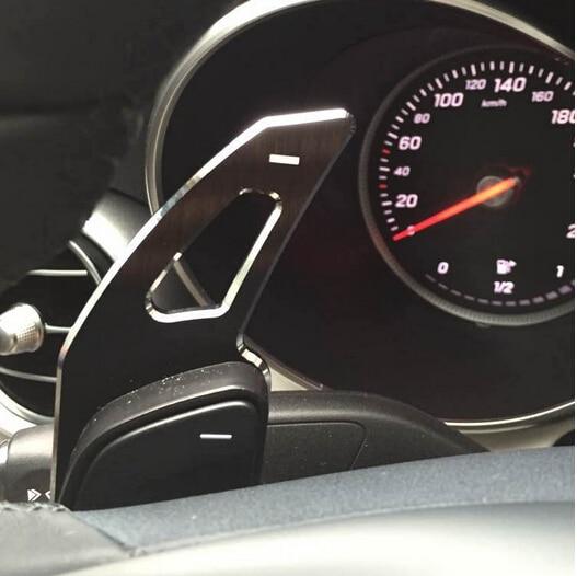 Steering Wheel Shifter Paddle Extension For Mercedes A B C E ML GL CLA GLA GLK SL SLK Class Benz W176 W246 C117 W212 W204 X156 car steering wheel emblem stickers for benz a b e s gle glk gla