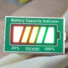 Заряда уровень жк-индикатора вольтметр емкость аккумулятор зарядки рычаг для 24 В свинца свинцово-кислотных аккумуляторов