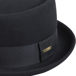 Image 5 - Sedancasesa 2020 남자 페도라 모자 패션 100% 순수 호주 양모 남자 모자와 돼지 고기 파이 모자 클래식 교회 양모 펠트 모자