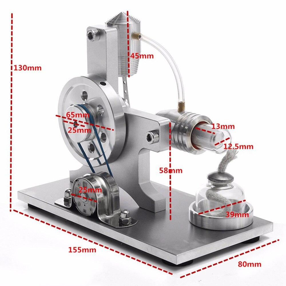 Вечный перемешивание игрушки из сплава двигатель для генератора Прямая