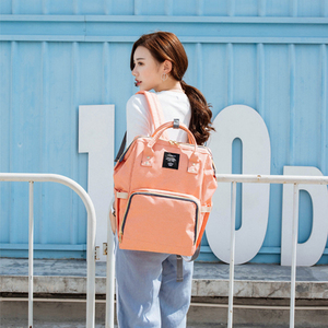 Image 5 - 여성 배낭 여성 대형 기저귀 배낭 멀티 포켓 다기능 엄마 배낭 여행 가방 엄마 기저귀 가방 SD 067