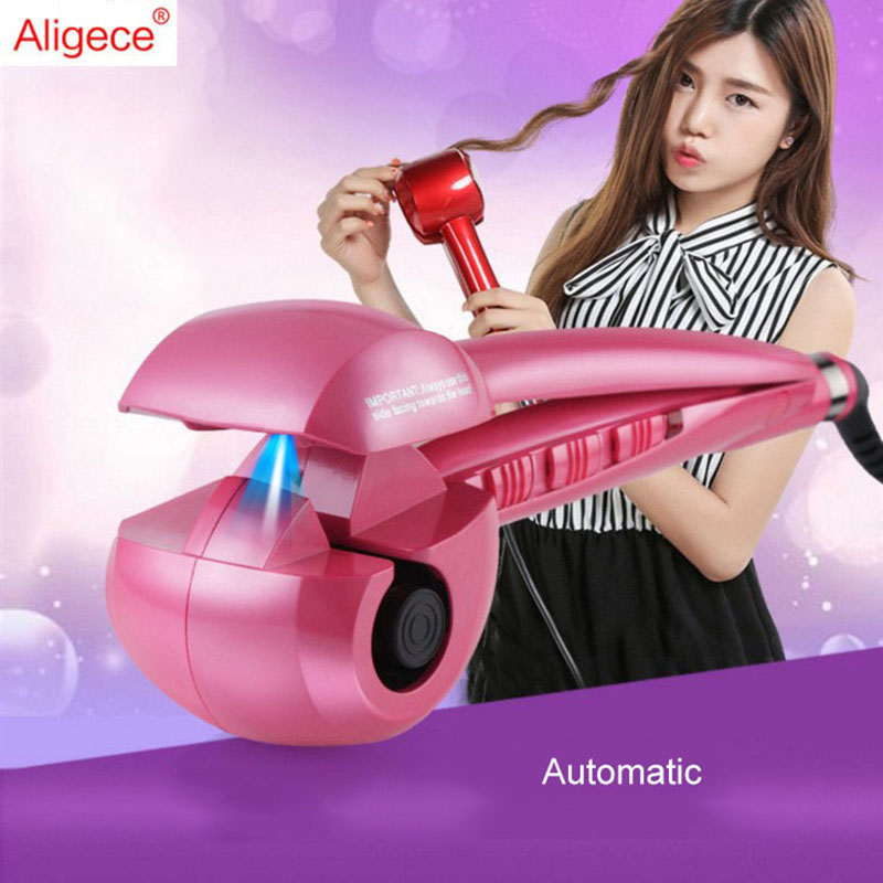 New Steam Fast Automatic Hair Curlers Hair Curler Digital Hair Curling Irons Professional Curlers Hair Styling Tools 110-240V automatic rotate steam hair curlers curling iron for hair curler wet dry hair professional salon styling tools