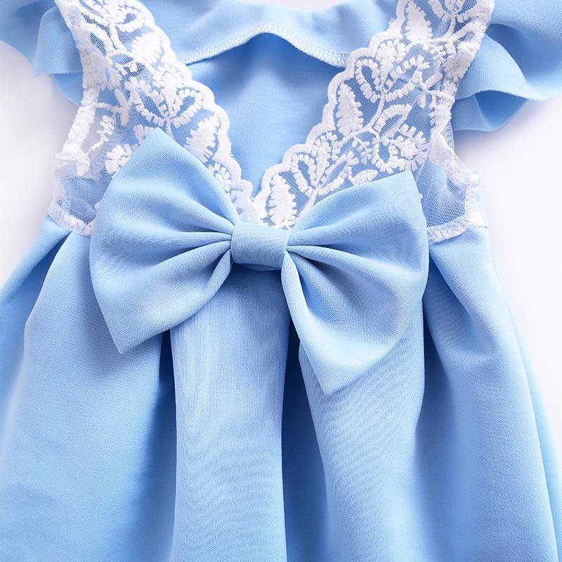 2018 nowych dzieci sukienki dla dziewczynek Princess Party Sundress - Ubrania dziecięce - Zdjęcie 5