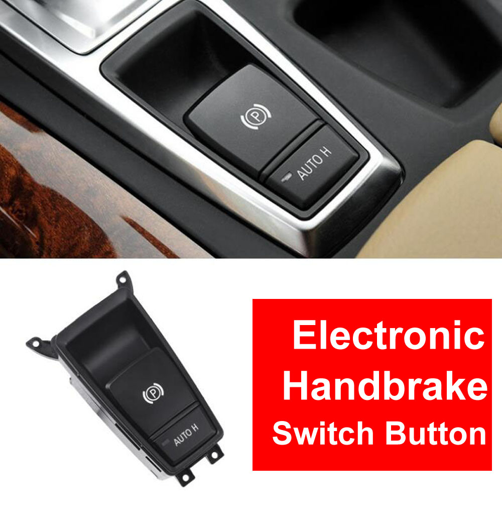 Car Styling Interior P TPU Electronic Handbrake Switch Button Cover Cap Inner Decoration For BMW E70 E71 X5 X6 2007-2013
