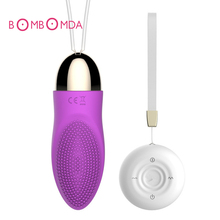 1PC Remote Control Massage Vibrating Jump Egg Waterproof Massager Dot Bullet For Women Sex Products