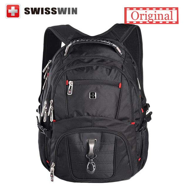 d78e9bfca9 Swisswin wenger Laptop backpack sw8112 sac a dos High quality 15.6