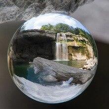 80 мм 3.1 inch Хрустальный шар оптовая продажа с деревянной основе кварцевого стекла мяч сферах
