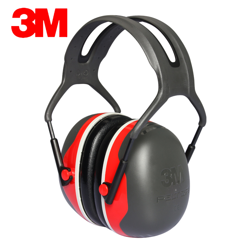 3M X3A Original New style Earmuffs Hearing Conservation Anti-noise Hearing Protector for Drivers/Workers/Shooters KU0619 3m h6p3e cap mount earmuffs hearing conservation h6p3e ultra light with liquid foam filled earmuff cushions e111
