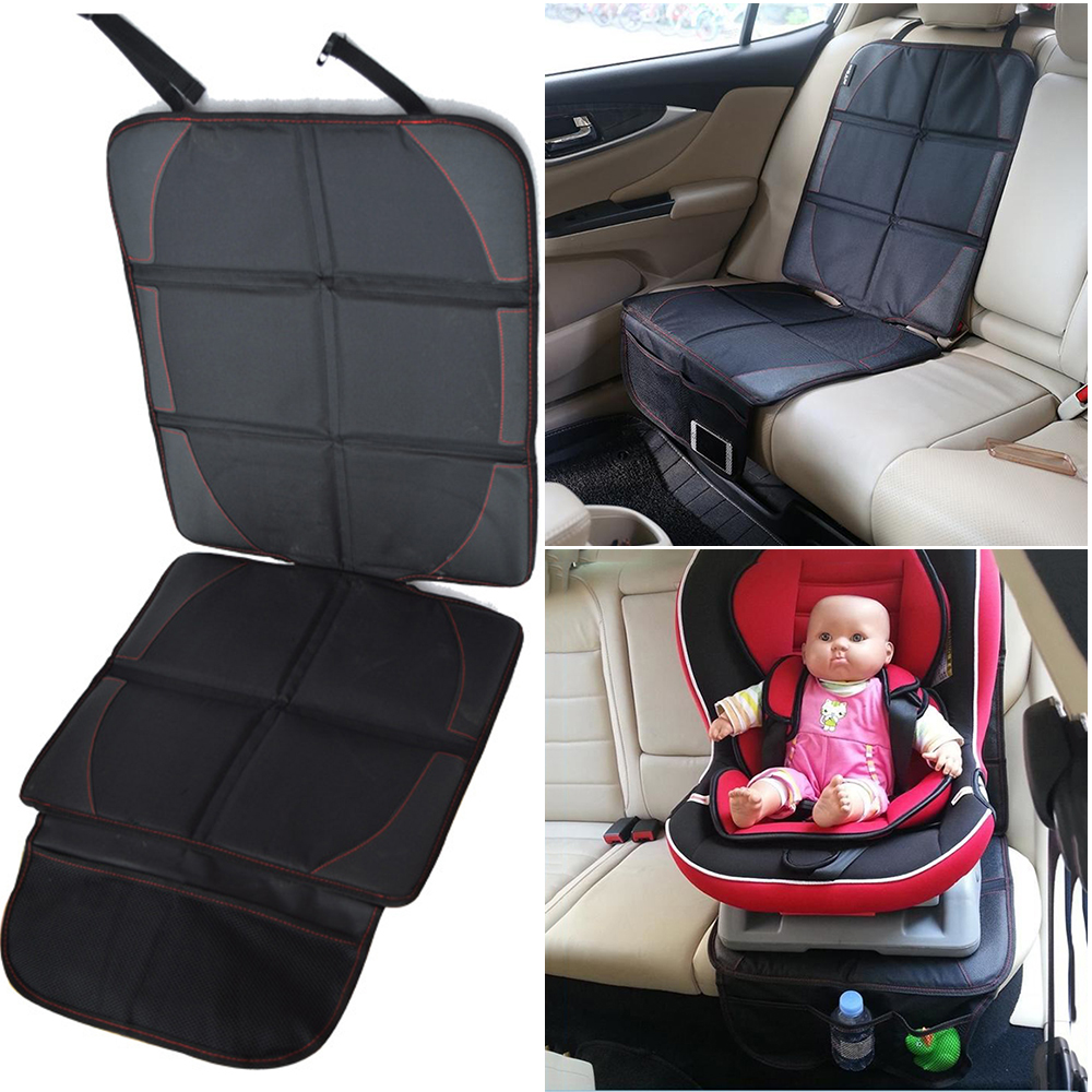 Car Seat Protector Saver Cover Mat for Back Seat Leather Upholstery Pad Front Rear Facing Child Baby Auto Booster Seats Travel