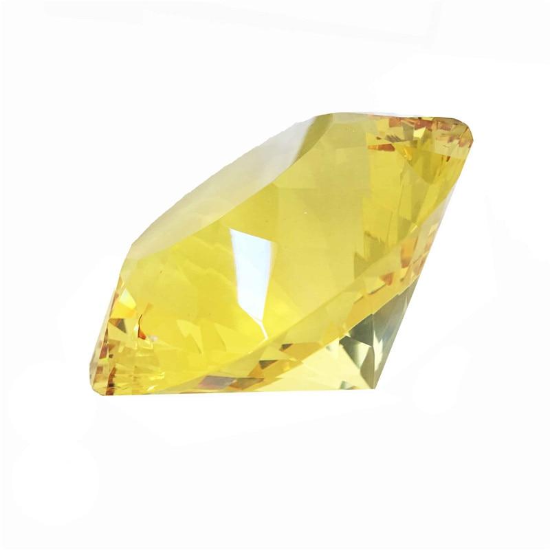 120mm 1pcs Feng Shui Crystal Glass Diamond Crafts Quartz Topaz Paperweight For Birthday Gift Big Sales david kennedy daniel feng shui for dummies