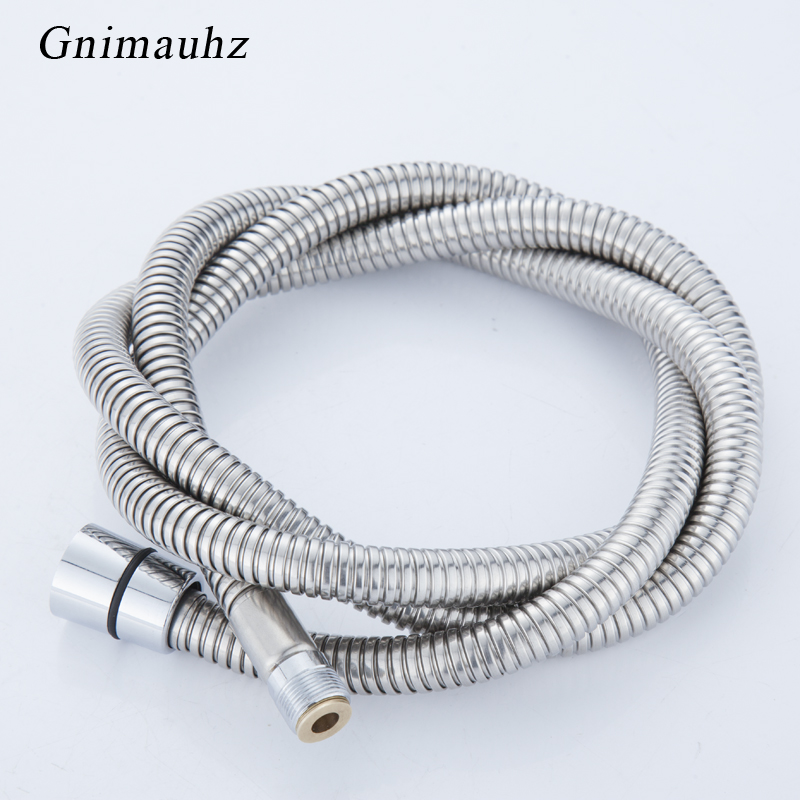 Stainless Steel Chrome Surface Pull Out Shower Pipe,bath Basin Kitchen Drain Faucet Special Hose