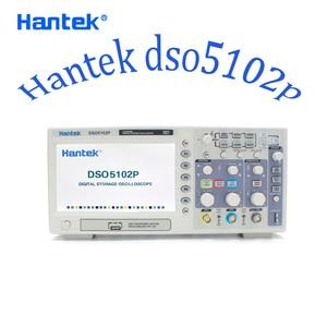 Image 2 - Hantek DSO5102P אוסצילוסקופ USB 2 ערוצים 100Mhz רוחב פס נייד דיגיטלי כף יד Osciloscopio 1GSa/s אמיתי זמן מדגם