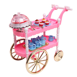 Case For Barbie House Kitchen Furniture And Accessories Sets Doll
