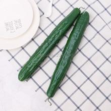 1 шт., Реалистичный искусственный огурец, имитация поддельных овощей, реквизит для фотосессии, для дома, кухни, вечерние украшения, обучающая игрушка для детей