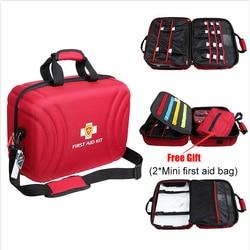 Estuche para botiquín de primeros auxilios vacío de gran tamaño, bolsa médica impermeable, botiquín de primeros auxilios para Hospital de fábrica en casa (42x31x20 cm)