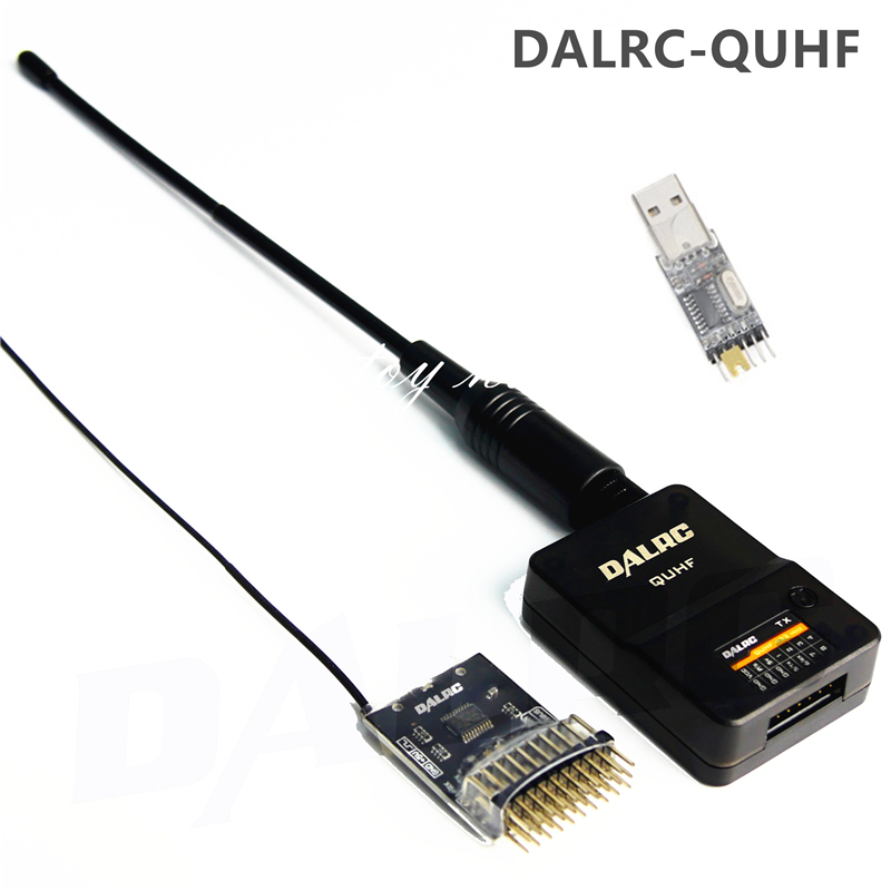 dalrc quhf 433 mhz 1500 mw 16ch controle remoto faixa de sinal extensor sistema impulso transmissor
