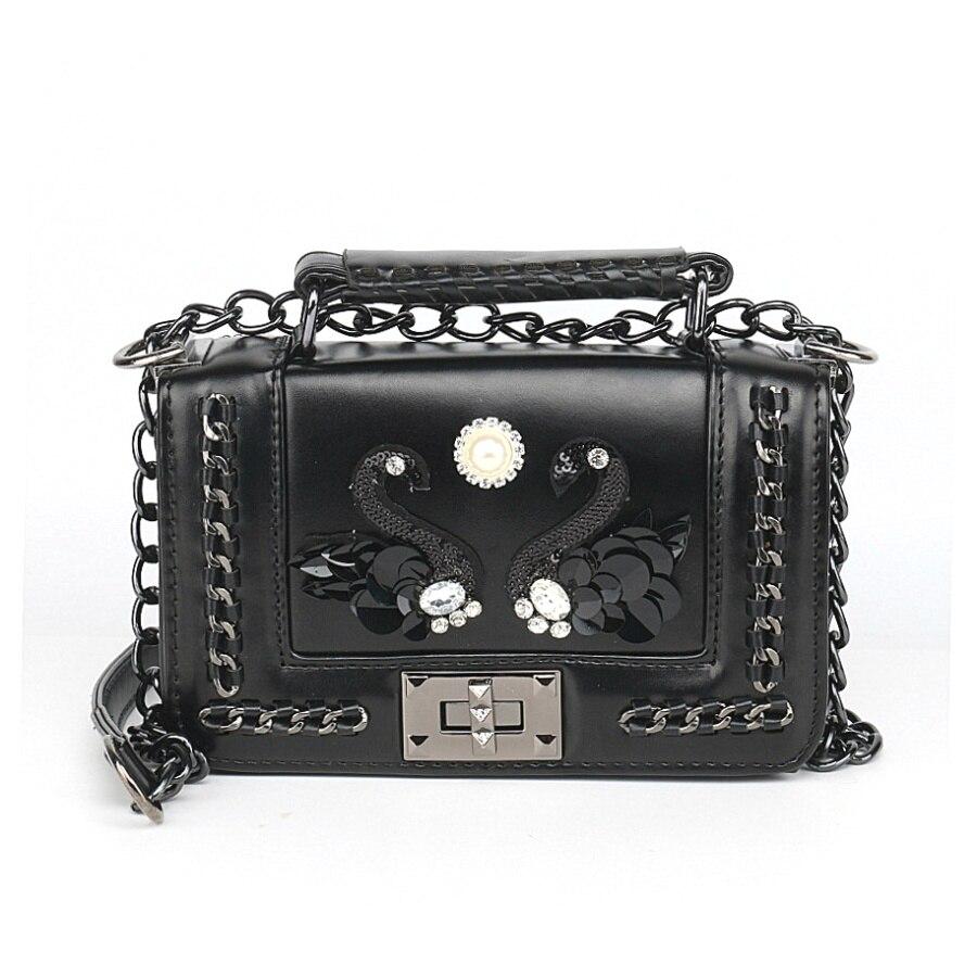 Новый Для женщин сумки цепи Малый Сумка Роскошные Сумки Для женщин известный Брендовая Дизайнерская обувь сумка через плечо Bolsa Feminina клатч