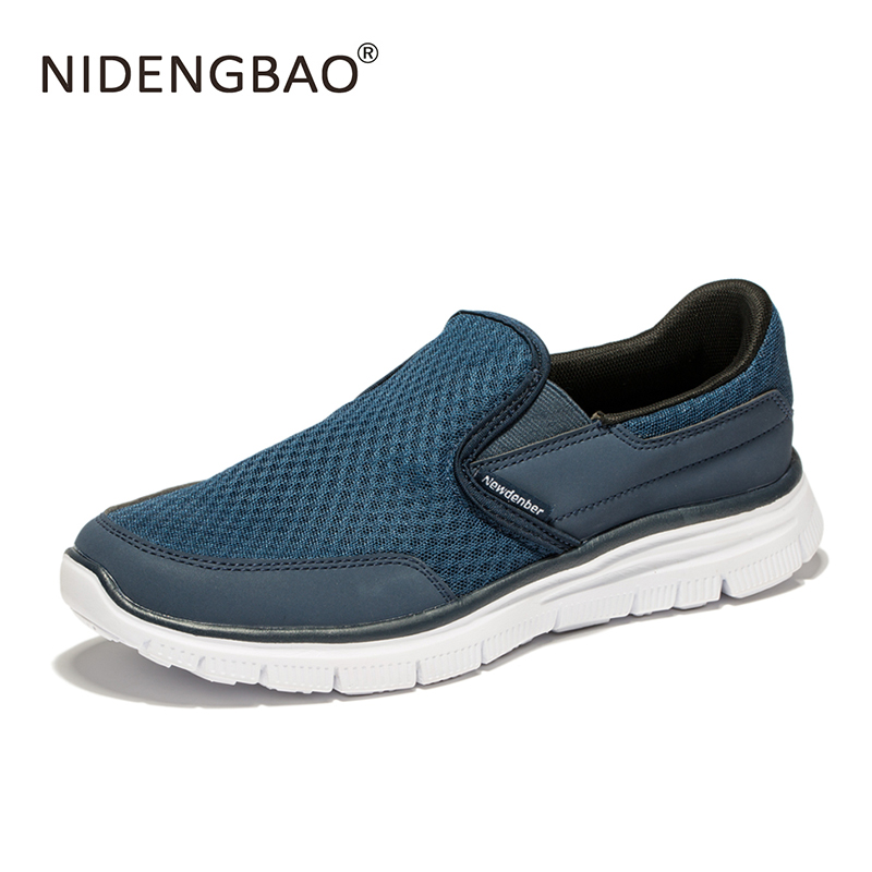 NIDENGBAO Sneakers for Men Summer Platform Running Shoes Sports Breathable 2017 For