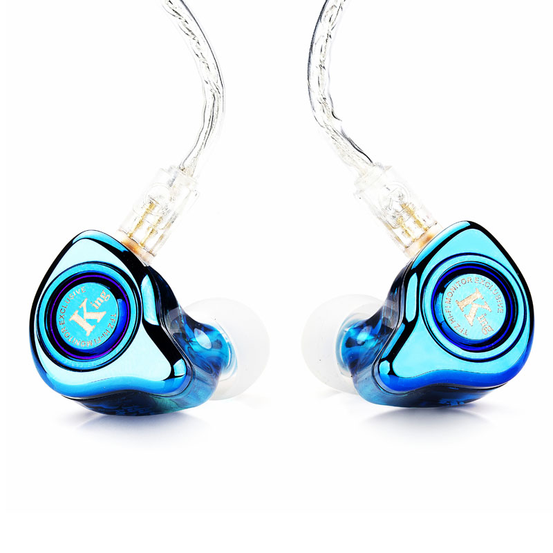 TFZ EXCLUSIVE KING Detachable Silver Plated Cable Hifi In-Ear Monitor Earphone tfz hifi monitor exclusive king experience version hifi in ear earphones iems detachable cable