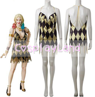 Harley Quinn Sexy Dress Halloween Costumes for Adult Women Cosplay Suicide Squad Harley Quinn Cosplay Costume Custom Made