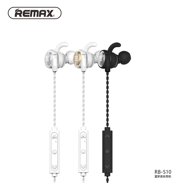 Remax RB-S10 neck mounted Bluetooth headset magnetic adsorption design HD  multipoint connection v4.1 earphone 6a7facdcf1