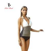 2017 Ariel Sarah Brand One Piece Swimsuit Plus Size Swimwear Women Brazilian Bandage Sexy Beachwear Monokini