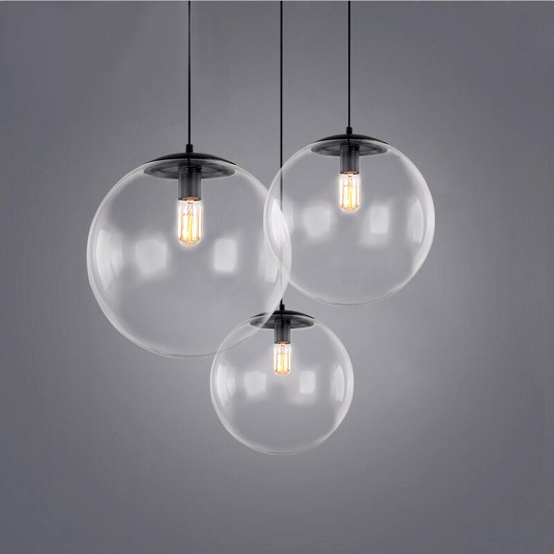 Creative contemporary single-head restaurant bar bedroom of children clothing store droplight of glass ball and spherical shape asics tiger gel lyte iii lc