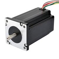 Dual Shaft Nema 24 Stepper Motor 8 lead 1.8 Degree 4Nm(566 oz.in) 60x100mm 3D Printer CNC Robot/CNC Milling Machine