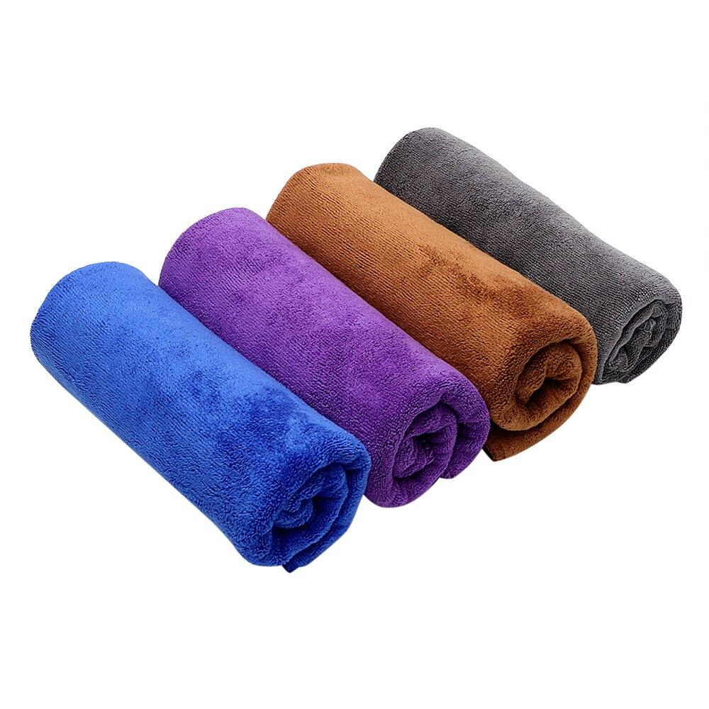 Herramienta de limpieza de 4 colores para el cuidado del coche, paño de microfibra Ultra suave para el pulido de cera del coche 30*70cm Toalla de lavado de coches Mameluco de sudadera con detalle de botón de bebé ebebek BabyZ