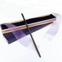 New Arrive Metal Iron Core Draco Malfoy Wand Harry Potter Magic Magical Wand Elegant Ribbon Gift