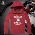 Harvard crimson sweatshirt hoodies school suit set tops JEREMY LIN  suit jacket long sleeve thickning coat