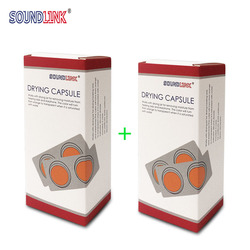 Hearing Aid Drying Capsules Desiccant Dehumidifier(2 Boxes/ 4 Cards)