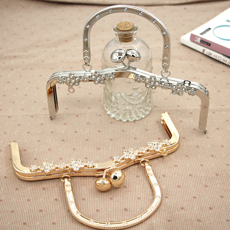 20.5 CM Metal Purse Frame Bag Hanger Obag Handle Metal Coin Purse Frame