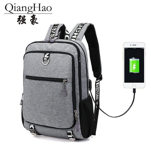 31a16b980a New fashion men s backpack vintage canvas backpack school bag men s travel  bags large capacity backpack Black