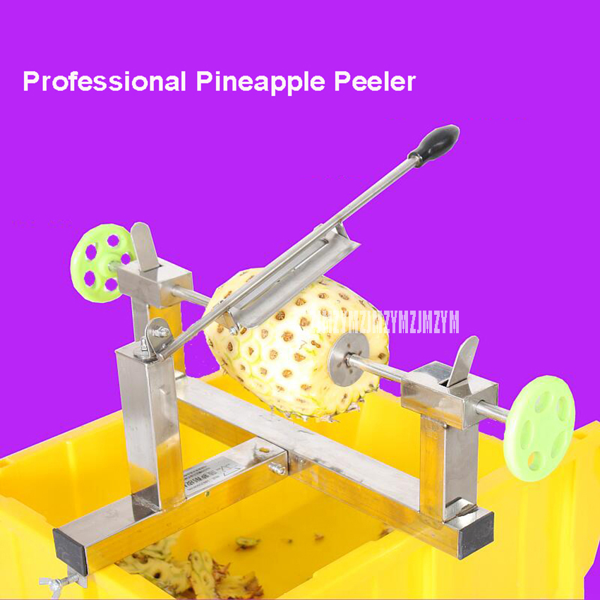 Commercial Stainless Steel Manual Pineapple Peeler Machine Professional Pineapple Peeling Machine Food Processors система очистки выхлопных газов autofab 2 5 elextric y e w af cut2y25