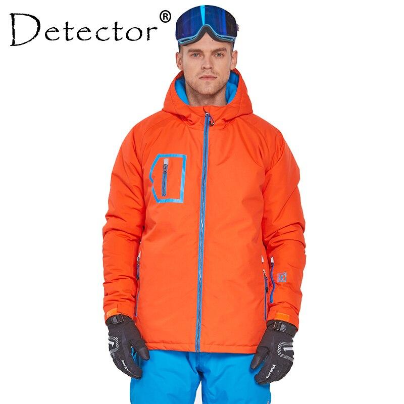 Detector Men Ski Snowboard Jacket Winter Suit Men's Outdoor Warm Waterproof Windproof Breathable Clothes